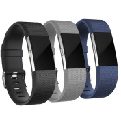 For Fitbit Charge 2 strap, AdePoy Classic Replacement Sport Strap Band for Fitbit Charge 2 Fitness Wristband