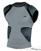 Bike multi sport compression shirt with integrated pads BYRS70 NEW Youth S