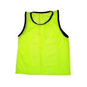Youth Yellow Scrimmage Training Vests Pinnies, Single