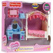 Fisher-Price Loving Family Dollhouse Furniture Set - Kids Bedroom