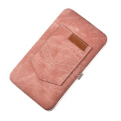 prelikes Ladies Multi-purpose Large Capacity Clutch Purse Mobile Phone Wristlet Wallet
