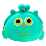 Tianfuheng Kawaii Cute Birthday Gift Cartoon Animal Silicone Jelly Coin Purse Mini Wallet