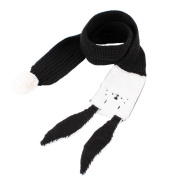 DIKEWANG New Autumn Winter Boys Girls Kids Cute Scarf Cotton Neck Scarves with Two Ears