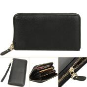 Domybest Fashion PU Long Leather Wallet Men Card Holder Clutch Handbag