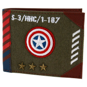 BB Designs Europe Limited Unisex Adults' Marvel Vintage Military Army Zip Top Wallet Wallet Blue
