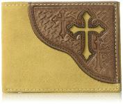 Nocona Boots Unisex Nocona Rough Cross Bifold Bi-Fold Wallet