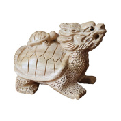 Small ornaments / peach / natural carved / wood carvings / jewellery / turtles / car / desk ornaments - 2#