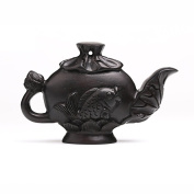 DIY / Accessories / Ebony / Natural Carving / Wood Carving / Jewellery / Teapot / Fish Pendant