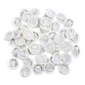 Topro Latex Rubber Finger Cover Powder Free Protector Medium Size, Pack of 100pcs