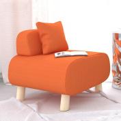 LI JING SHOP - Individual Cloth Lazy Small Sofa Simple Modern Lounge Chair