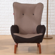 LI JING SHOP - Collapsible bedroom Lazy Sofa chair modern Simple balcony Backrest Nursing chair Read a book Leisure Seat