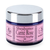 Apomanum - Shea butter, Carité Rose, with real rose extract 40 g