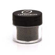 Black Jewel – Holographic Cosmetic Grade Fine Glitter Powder Safe for Skin. Great for Tattoos, Make Up, Face, Hair, Lips, Soap, Body Lotion & Nail Art – Made in the USA (10 Gramme Jars) by Glitties Nail Art