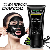 Black Face Mask,Blackhead Remover Skin Deep Clean Purifying Bamboo Charcoal Black Mud Face Mask