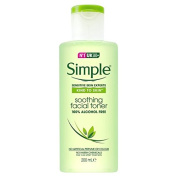 Simple Kind To Skin Soothing Face Toner 200Ml