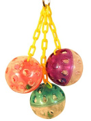 Bonka Bird Toys 1467 Ball Clanger Bird Toy.