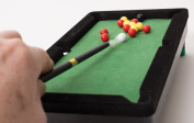 Desktop Miniature Pool Table Set with Mini Pool Balls And Cue Sticks