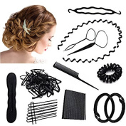 Our Fantasy Time Perfect Combination Hair Styling Tool Set, Hair accessories, hair styling DIY Hair Styling Hair Styling Accessories