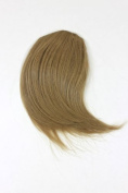 Hair Piece Clip in Bangs Fringe HIGH QUALITY synthetic fibre DARK BLOND ash ashblond YZF-1088HT-24