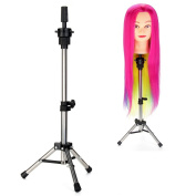 Neverland Beauty Tripod Adjustable Manikin Mannequin Head Holder Hairdressing Training Stand