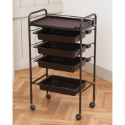 Beauty Salon Rolling Trolley Storage Organiser Cart Simple Multi-layer Optional Elitzia ETST17