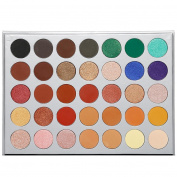 35 Colours Eyeshadow Palette Matte and Shimmer,Waterproof Long Lasting Eye Shadow with Brush VNEIRW
