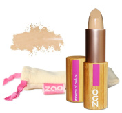 ZAO Concealer 492 Cover Stick Beige in a Refillable Bamboo Container Certified Bio / Ecocert / Cosmebio / Natural Cosmetics