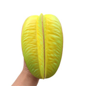 Slow Rising Squishies Mingfa Soft Simulation Fruit Carambola Stress Reliever Squeeze Decompression Toys for Kids Adults ADD ADHD Autism