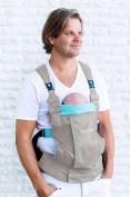 Minimonkey Ergonomic Baby Carrier Dynamic Grey – Grey/Blue – 4 in 1