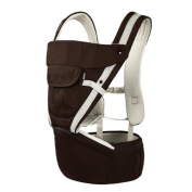 Multifunction Baby stool Simple Combo Baby carrier red brown