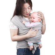 Baby Wrap Carrier,GloEra Adjustable Breastfeeding Cover Cotton Sling Baby Wrap for Infants & Toddlersup to 35 lbs/16kg, Soft and Comfortable