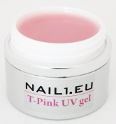 55ml 1-phasen-gel Gel Professional Line nail1.eu T-Pink Pink Milky / UV Builder Gel Composition