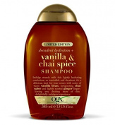 OGX vanilla and chai spice shampoo 385ml