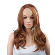 Women Wigs Long Curly Full Head Wigs Cosplay Costume Party Fancy Dress
