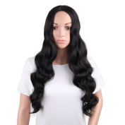 Sexy Women Wigs Long Curly Wavy Wig Synthetic Natural Fashionable Wig for Womens