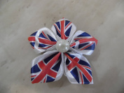 Hand-Made Union Jack Royal Wedding Hair Clip beauty accessory