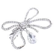 MagiDeal Wedding Crystal Hairpin Rhinestone Hair Clip Bridal Hair Accessory Wedding Prom Fancy Dress Accessory