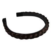 Fostly Wig Braid Headband Casual Hairpiece Hairband Sythentic Hair Braid Wedding Hair Accessory
