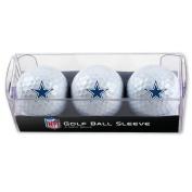 Dallas Cowboys Golf Balls - 3 pc sleeve