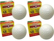 Cloud-Flite Exploding Golf Ball Gag 4.3cm Prank, White, 48 Pack