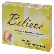 Believe Pearlescent Ladies Golf Balls - One Dozen