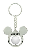 Mickey Mouse Golf Ball Spinning Keychain