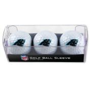 Carolina Panthers Golf Balls - 3 pc sleeve