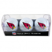 Arizona Cardinals Golf Balls - 3 pc sleeve