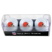 Cleveland Browns Golf Balls - 3 pc sleeve