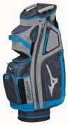 NEW Mizuno BR-D4C Heather Grey/Sky Blue Golf Cart Bag