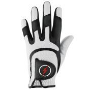 Powerbilt One-Fit Adult Golf Glove - Mens LH White/Black