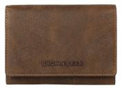 Brown Bear Women's Wallet Brown 03 Braun Vintage 0