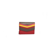 Eastern Counties Leather Womens/Ladies Bianca Colour Chevron Panel Purse