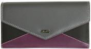 Felda RFID Genuine Leather Envelope Purse Soft Wallet 13 Card Slot